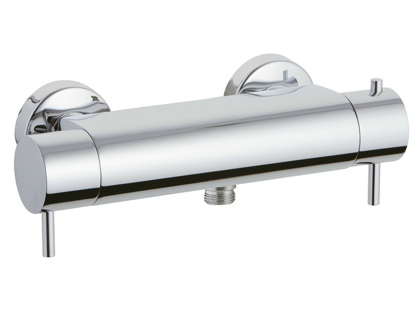 2 hole thermostatic shower mixer X-CHANGE_MONO   2 hole thermostatic shower mixer by Rubinetterie 3M