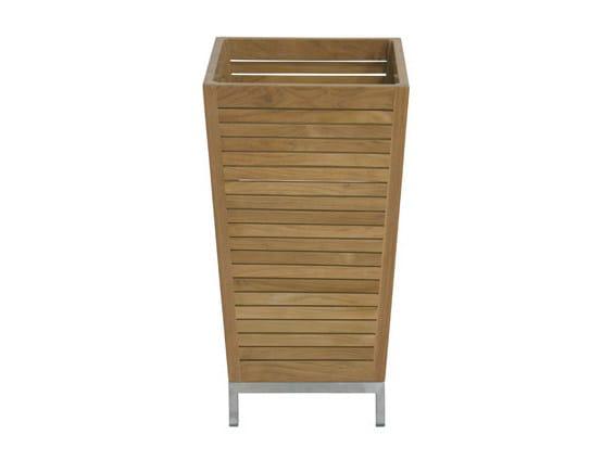 Wooden planter OBELISK | Wooden planter - Il Giardino di Legno