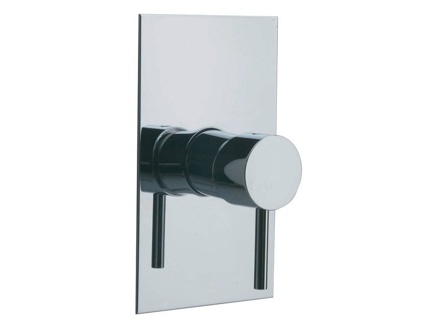 Single handle shower mixer with plate X-CHANGE_MONO   Single handle shower mixer - Rubinetterie 3M