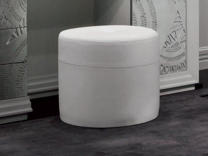 Leather pouf ÉTOILE NIGHT   Pouf - Cantiero