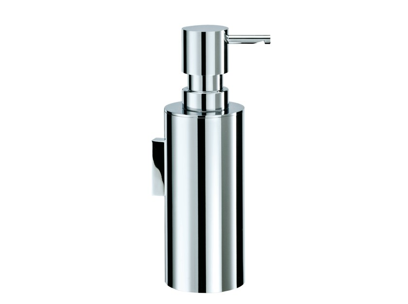 Wall-mounted chrome plated liquid soap dispenser MK WSP by DECOR WALTHER