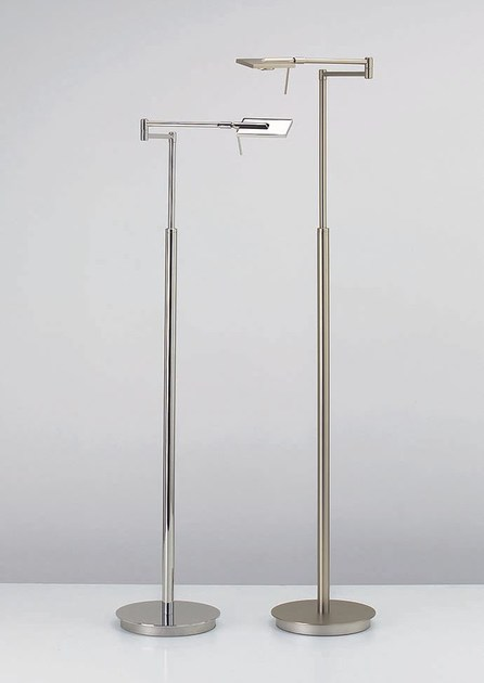 LED height-adjustable floor lamp chip l by DECOR WALTHER