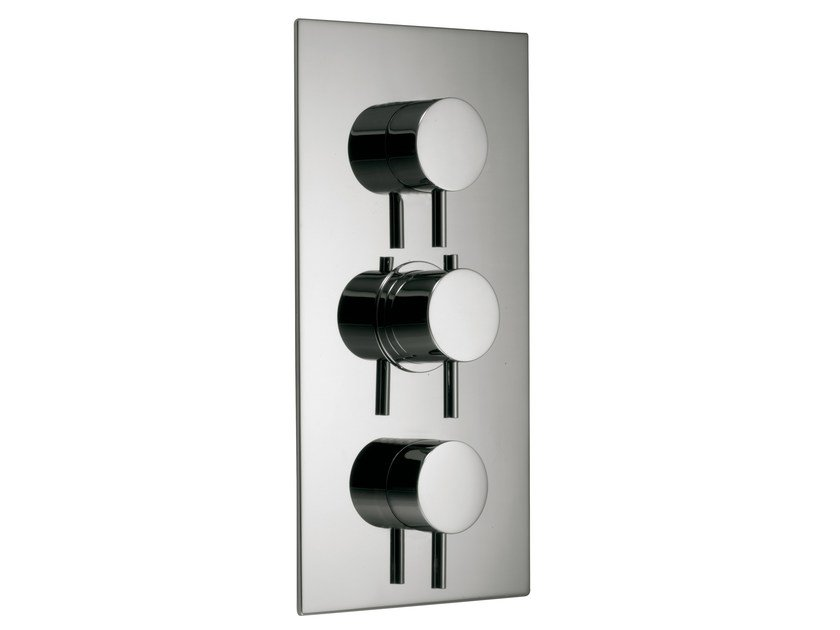 3 hole thermostatic shower mixer with diverter X-CHANGE_MONO | 3 hole thermostatic shower mixer - Rubinetterie 3M