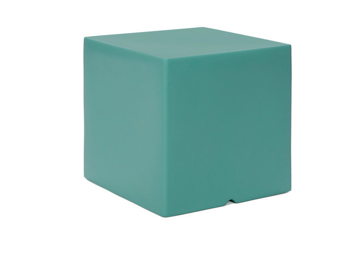 Low Square polyethylene garden side table MOOD | Polyethylene garden side table by Il Giardino di Legno