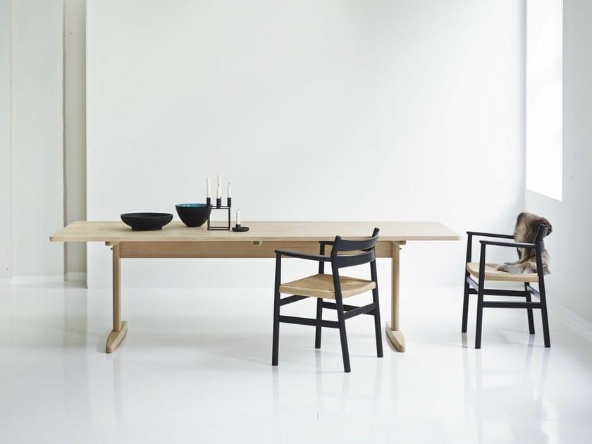 Extending rectangular table SHAKER TABLE - dk3