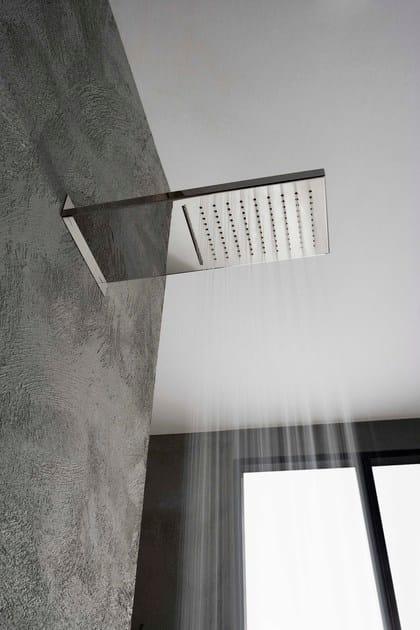 Soffione a cascata a muro a pioggia showers soffione a - Soffione a cascata ...