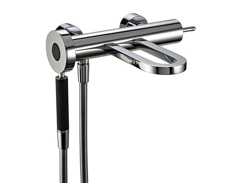 2 hole wall-mounted bathtub mixer PHILO | Wall-mounted bathtub mixer - Rubinetterie 3M