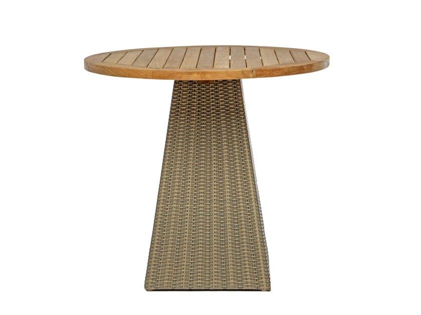 Round garden table GIPSY | Round garden table by Il Giardino di Legno