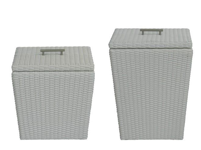 Synthetic fibre garden cabinet OXY | Garden cabinet - Il Giardino di Legno