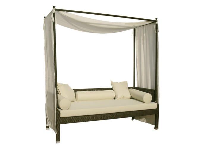Canopy synthetic fibre garden sofa MAUI | Canopy garden sofa by Il Giardino di Legno