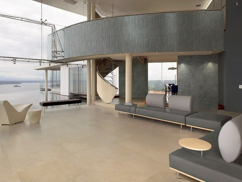Porcelain stoneware flooring with stone effect QUARZITE | Flooring - Ceramiche Coem