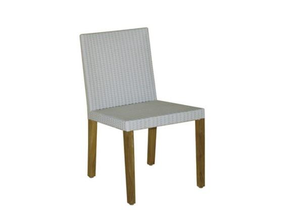 Synthetic fibre garden chair FIJI | Garden chair - Il Giardino di Legno