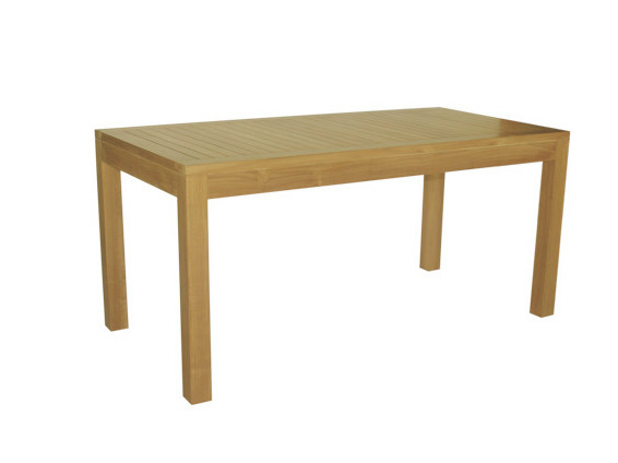 Rectangular wooden garden table VENEZIA | Rectangular garden table - Il Giardino di Legno