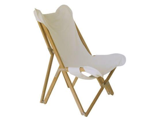 Folding wooden garden armchair VENEZIA | Garden armchair by Il Giardino di Legno