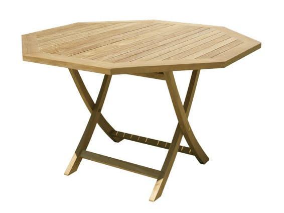 Tavolo da giardino pieghevole in legno jimbaran collezione teak by il giardino di legno - Tavolo pieghevole da giardino ...