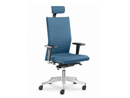 Executive chair with 5-spoke base with casters ELEMENT | Swivel executive chair by LD Seating