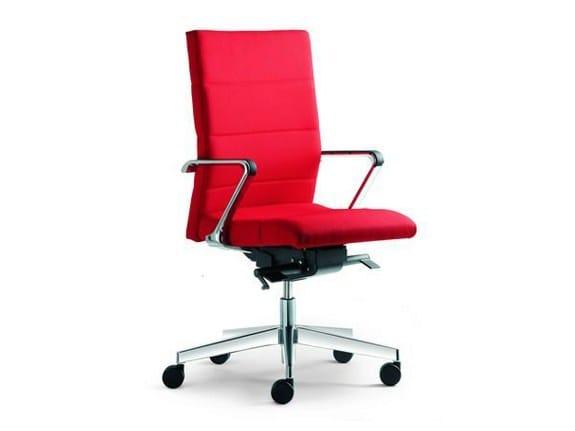 Height-adjustable ergonomic swivel task chair LASER | Height-adjustable task chair - LD Seating
