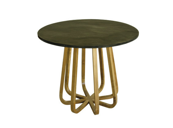 Round garden table EMILY   Garden table by Il Giardino di Legno