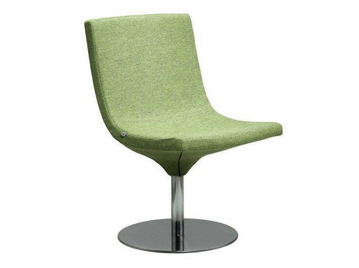 Swivel fabric easy chair MOON | Swivel easy chair by LD Seating