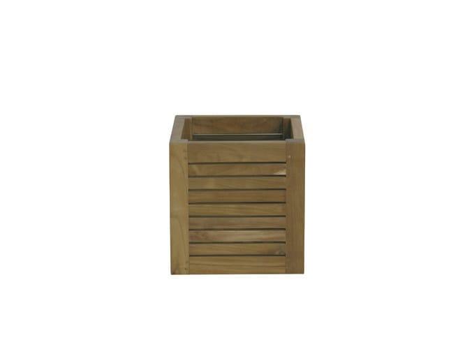 Wooden planter GEO | Wooden planter by Il Giardino di Legno