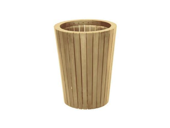 Wooden planter TENNIS | Planter - Il Giardino di Legno