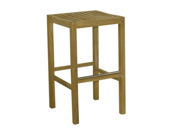 Wooden garden stool SAVANA | Garden stool - Il Giardino di Legno