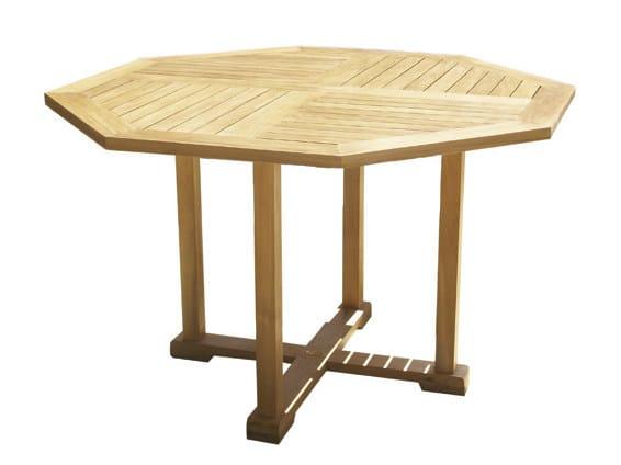 Mesa de jardim de madeira BRISTOL | Mesa de jardim - Il Giardino di Legno