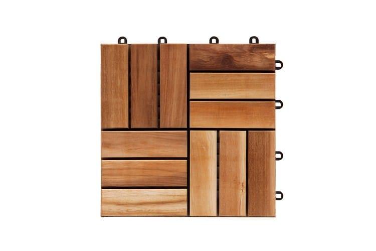 Pavimento per esterni in legno tiles pavimento per - Il giardino di legno ...
