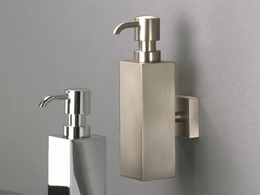 Wall-mounted chrome plated liquid soap dispenser DW 505 N - DECOR WALTHER