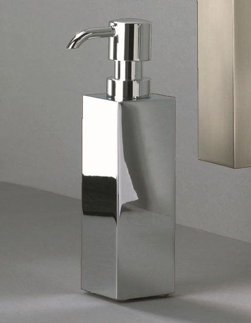 Chrome plated liquid soap dispenser DW 500 by DECOR WALTHER