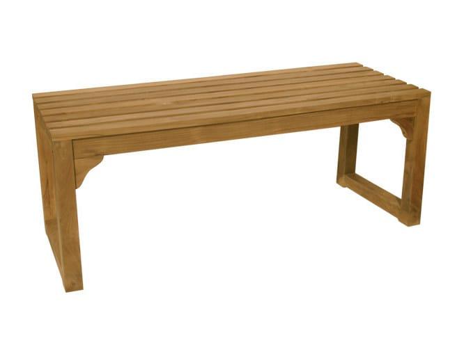 Panca da giardino in legno classica panca da giardino - Panca giardino ikea ...
