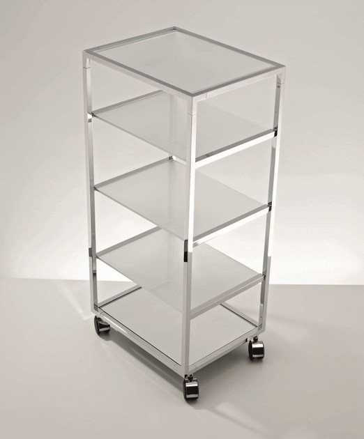 Metal trolley RW 2 by DECOR WALTHER