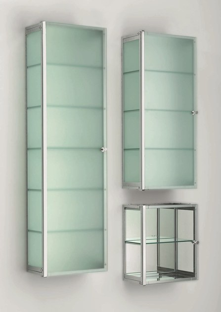 Glass wall cabinet with doors S - DECOR WALTHER