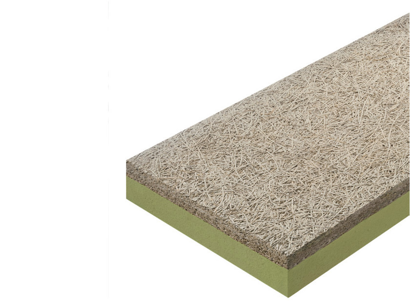 Natural insulating felt and panel for sustainable building CELENIT L2 - CELENIT