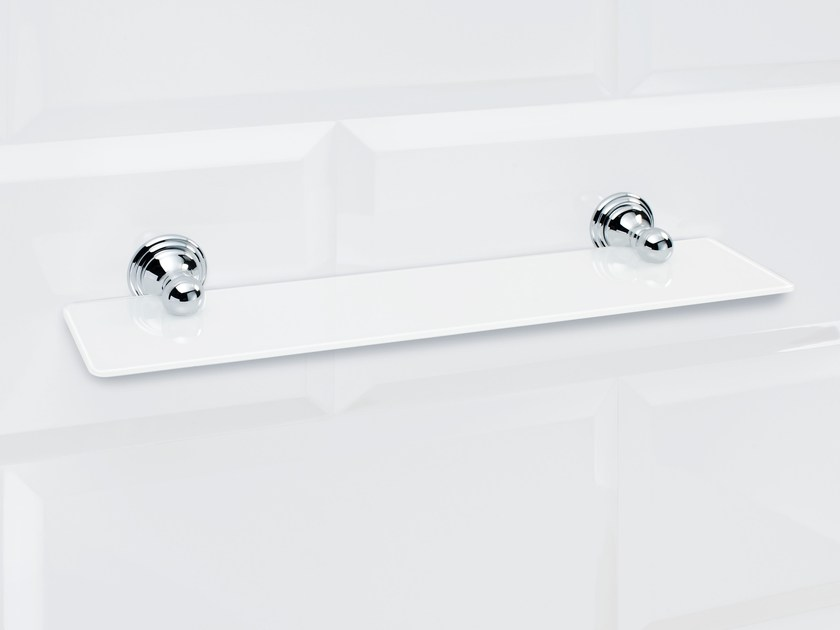 Bathroom wall shelf CL GLA60 by DECOR WALTHER