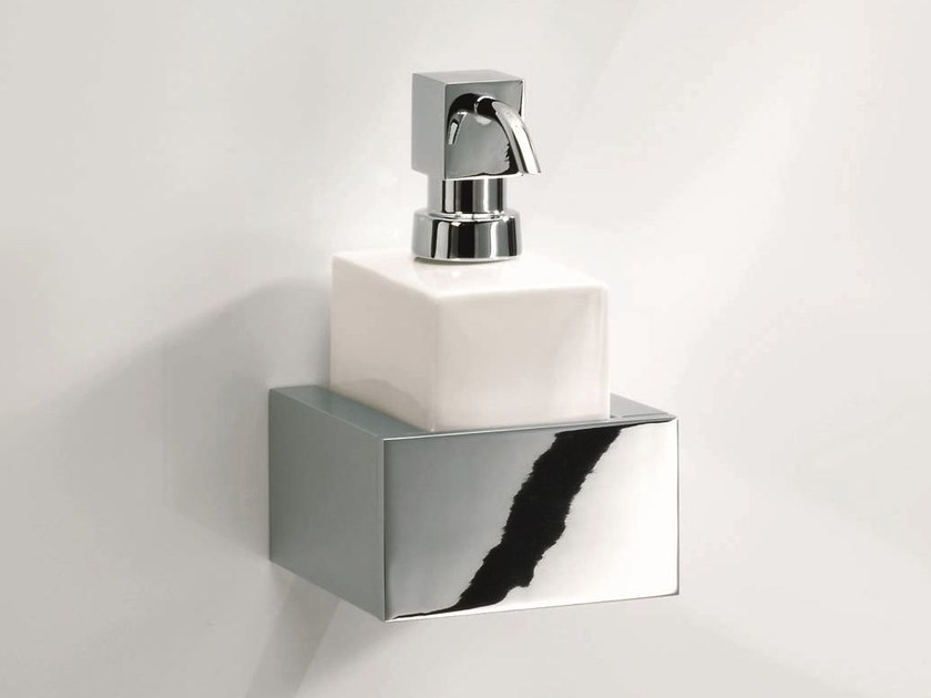 Wall Mounted Liquid Soap Dispenser Bk Wsp Brick Collection By Decor Walther