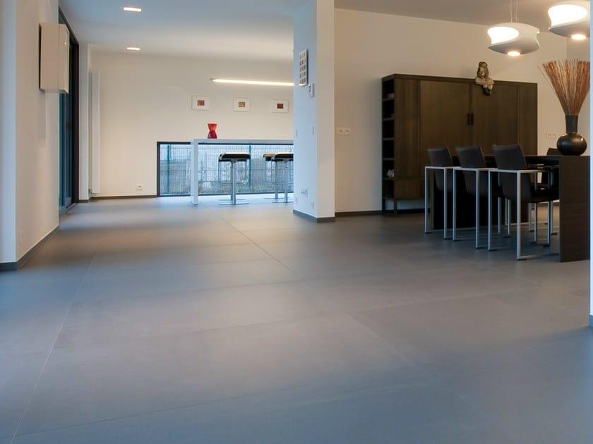 Ultra thin Techlam® wall/floor tiles BASIC ANTRACITA - Levantina