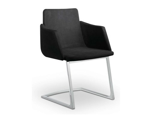 Cantilever easy chair with armrests HARMONY | Cantilever easy chair - LD Seating