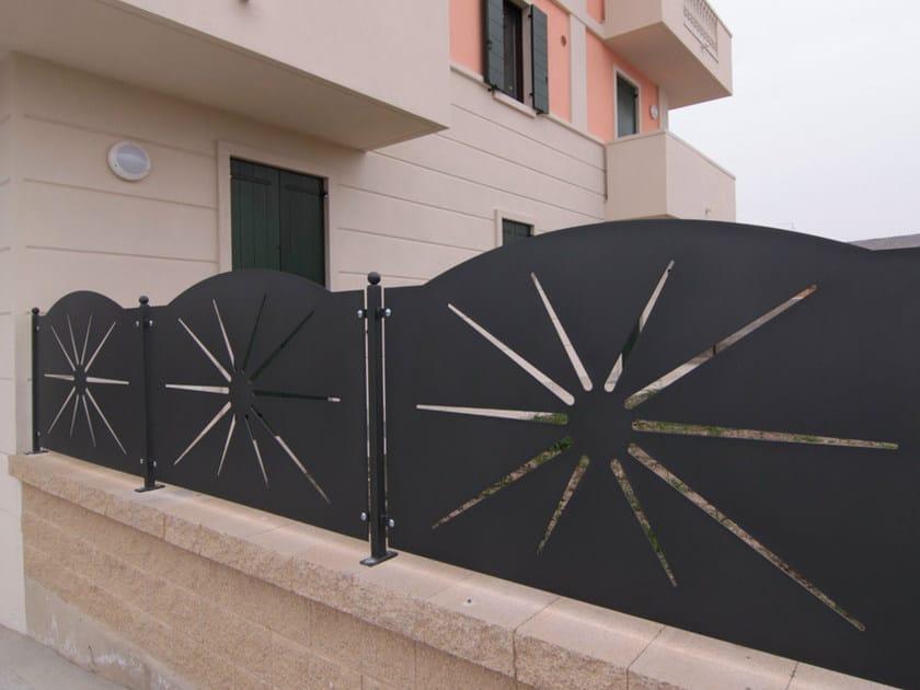 Modular plate Fence SOLE - CMC DI COSTA MASSIMILIANO