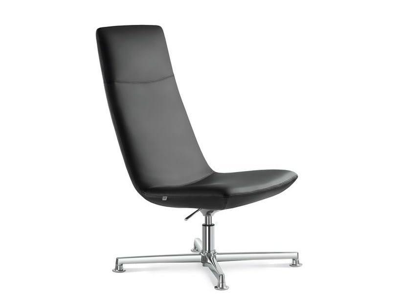 Height-adjustable high-back executive chair with headrest SKY | Executive chair with headrest - LD Seating