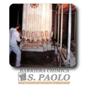 Chemical barrier anti-humidity systems S.Paolo Chemical barrier - S. PAOLO