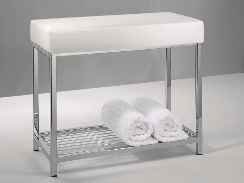 Tabouret de salle de bain dw 77 by decor walther for Decor walther salle de bain