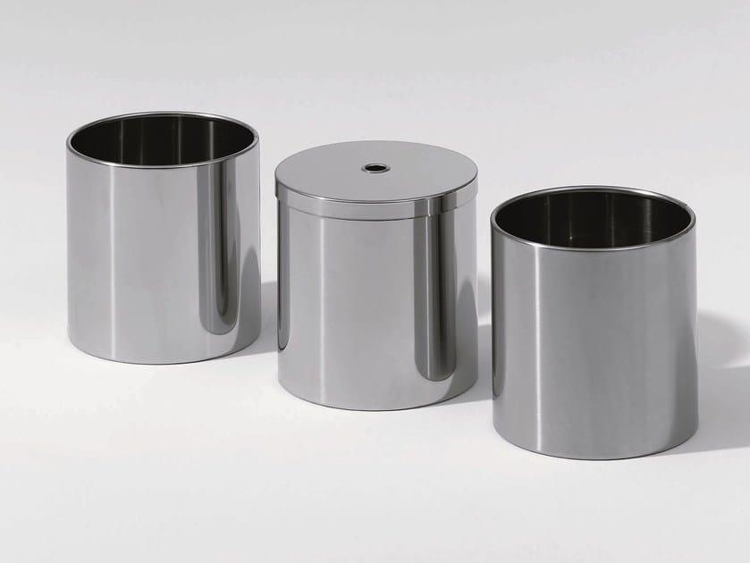 Steel bathroom waste bin DW 105 - DECOR WALTHER