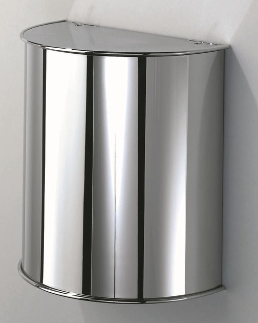 Steel bathroom waste bin DW 31 - DECOR WALTHER
