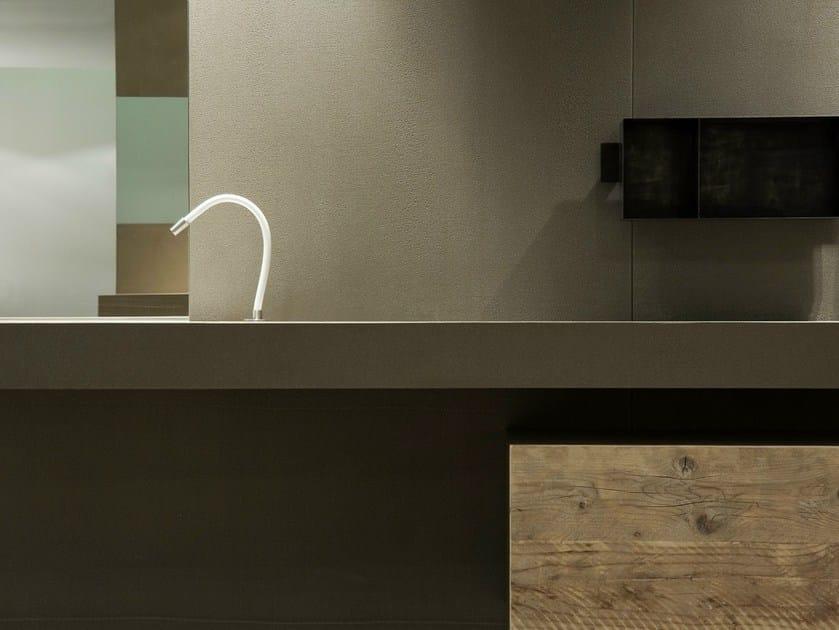 Prefinito Calce® washbasin countertop PREFINITO CALCE | Washbasin countertop by Moab80