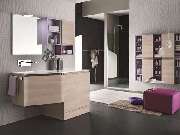 Bathroom furniture set AB 6020 - RAB Arredobagno