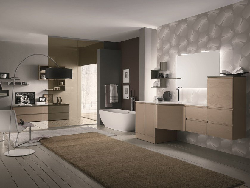 Bathroom furniture set AB 6030 - RAB Arredobagno