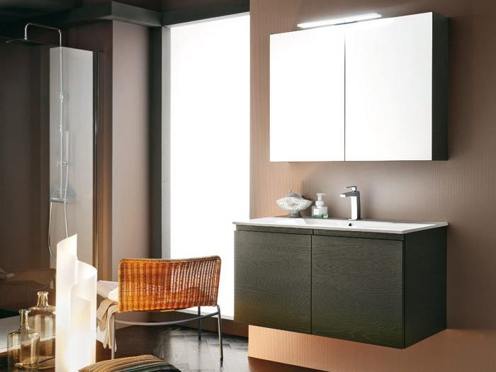 Single vanity unit AB 6080 - RAB Arredobagno