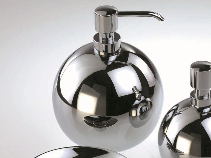 Chrome plated liquid soap dispenser DW 405 - DECOR WALTHER