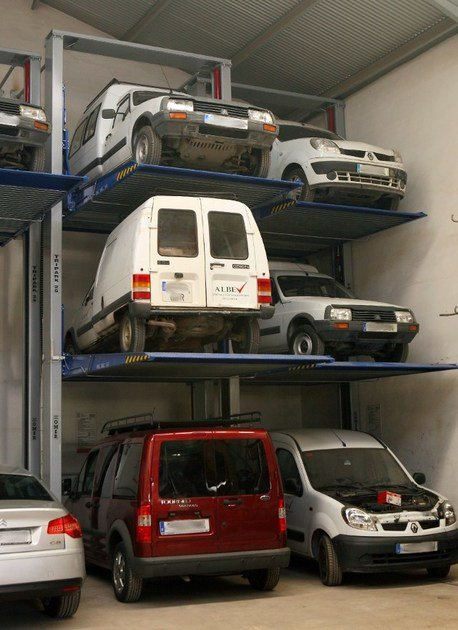 Automatic parking systems TRIPARK by O.ME.R.